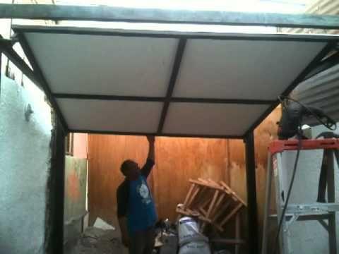 Proyecto Porton elevadizo manual.MOV - YouTube