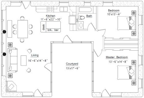 1000 Images About Floorplans Under 1000 Sq Ft On