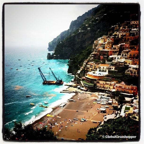 send me on my way (honeymoon on the amalfi coast)