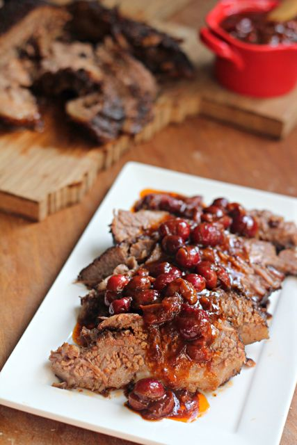 ... Brisket with Cranberry Sauce | Recipe | Brisket, Bourbon and Cranberry