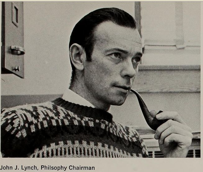 """vintagepipemen: """"Dr. John Lynch, College of the Holy Cross, 1969. """""""