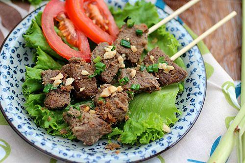 Lemongrass Beef Skewers Recipe — Dishmaps