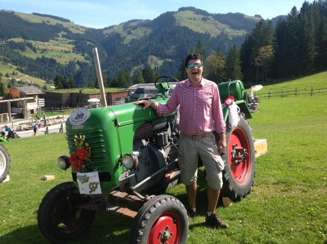 On the Alm in Tyrolia