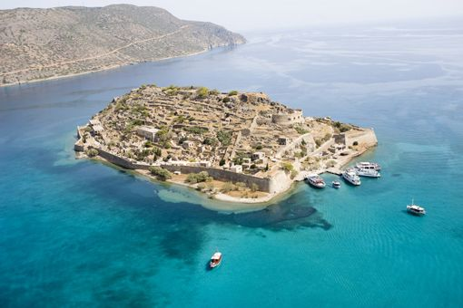 Spinalonga is a small island near Elounda in East Crete. Spinalonga is also known as the Lepper Island ... www.cretetravel.com