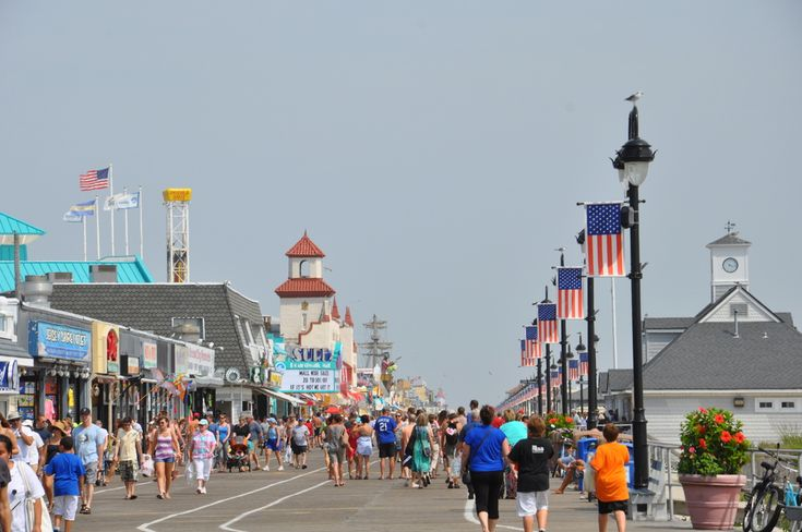 Ocean City, New Jersey - Very pretty boardwalk, 11 miles from Atlantic City