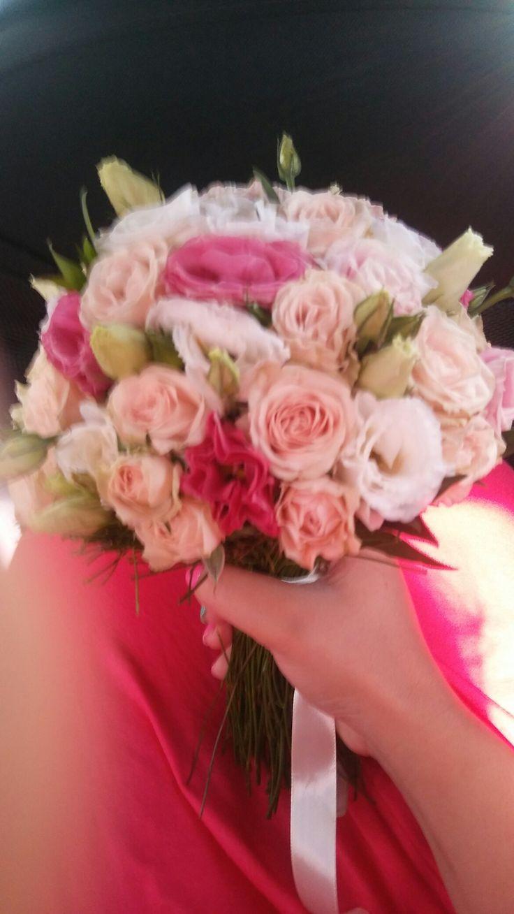 Букет невесты Натальи