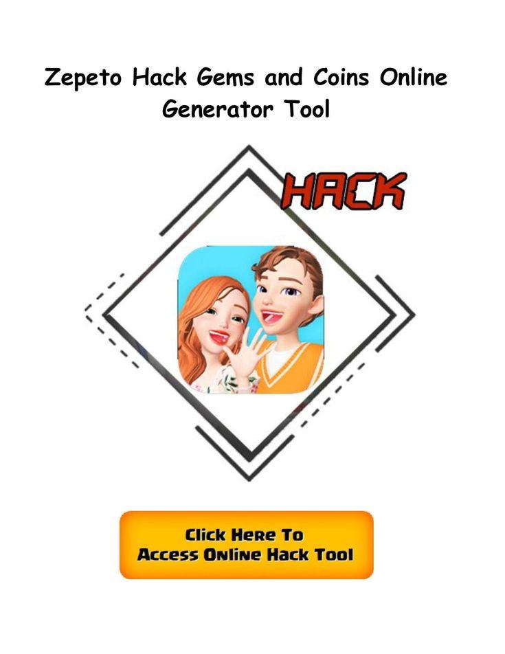 zepeto hack coins generator online