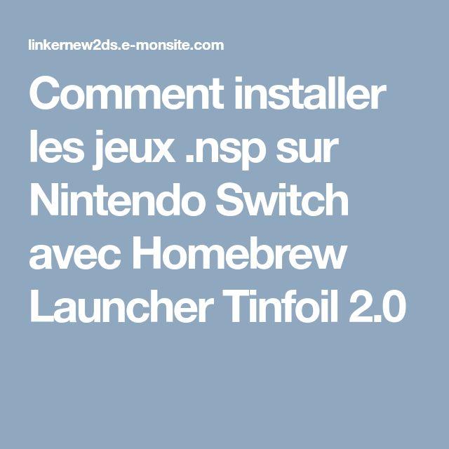 Tinfoil switch latest version