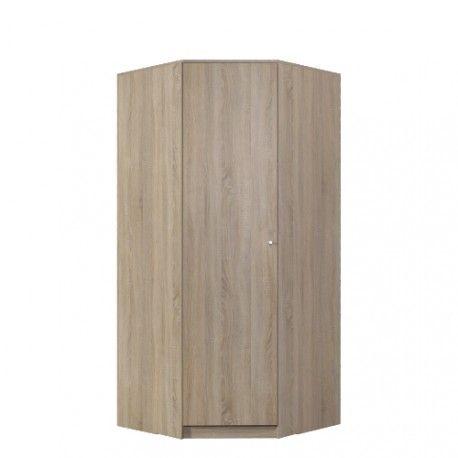 Rohová šatní skříň Optimo OP4 3950