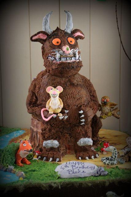 Cake at a Gruffalo Party #gruffalo #partycake
