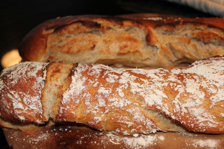 Bucket Bread- this bread recipe CHANGED MY LIFE! From one basic recipe, make baguettes, boules, foccacia, pizzas, and rolls. Plus, absolutely no kneading!