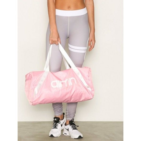 Aim'N Duffle Bag (€45) ❤ liked on Polyvore featuring bags, handbags, accessories sport, pink, sports fashion, womens-fashion, pink handbags, logo duffle bags, sport duffel bags and pink duffle bag