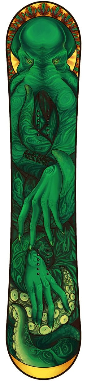 "CTHULHU DECK by Nicky ""PlasticBottles"" C-R"