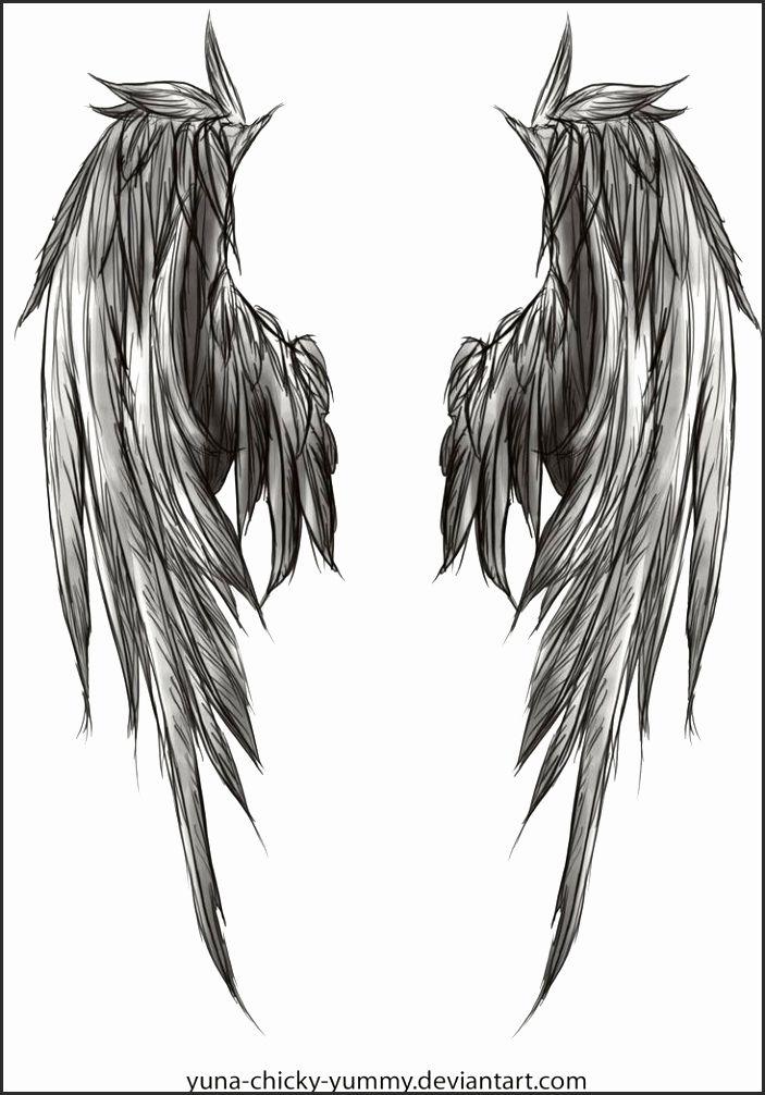 5080e228e0050 Angel and Demon Wing Tattoos Jsavu Lovely Pin by Romain Quennehen On Beau  Pinterest