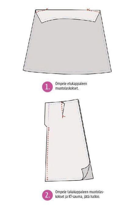 Näin lyhennät farkkujen lahkeet säilyttäen alkuperäisen lahkeensuun | Kodin Kuvalehti
