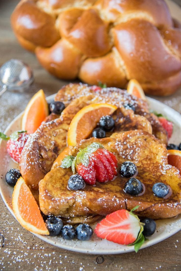 Challah French Toast is the ultimate Sunday Breakfast! Challah Bread makes this the best french toast recipe. This easy french toast recipe can be used to make challah bread french toast and even a baked french toast recipe. It's full of flavor and won't disappoint!  #frenchtoast #breakfast #breakfastrecipes #delicious #yummy #food