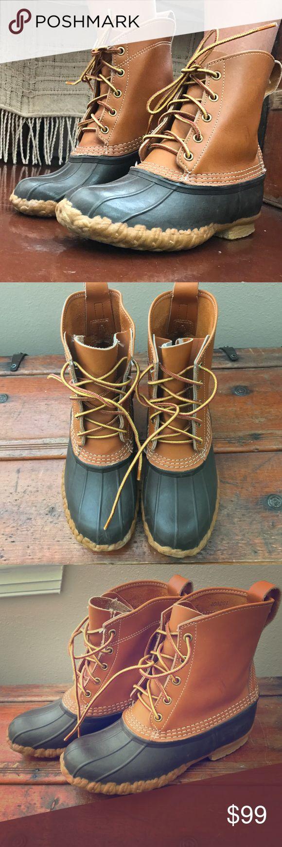 L l bean order form - Vtg Ll Bean Made Usa Classic Duck Boots Ladies 7 Vtg Ll Bean Made Usa Classic