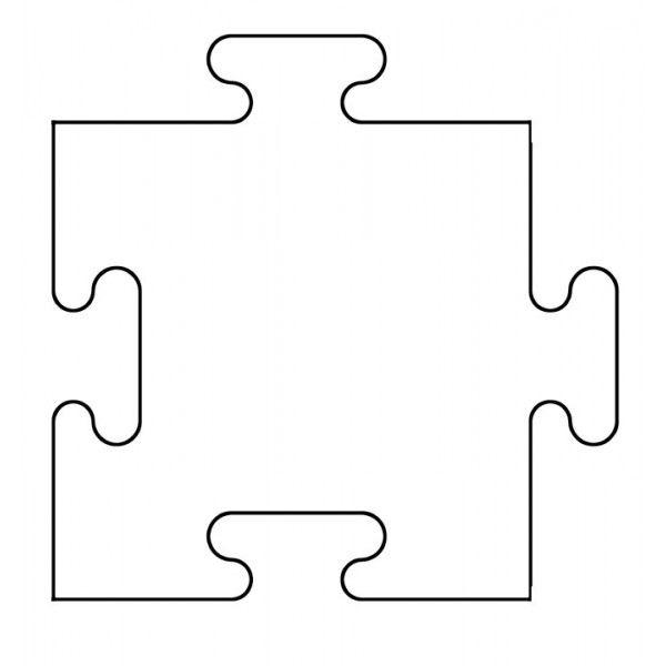 Pièce puzzle à imprimer