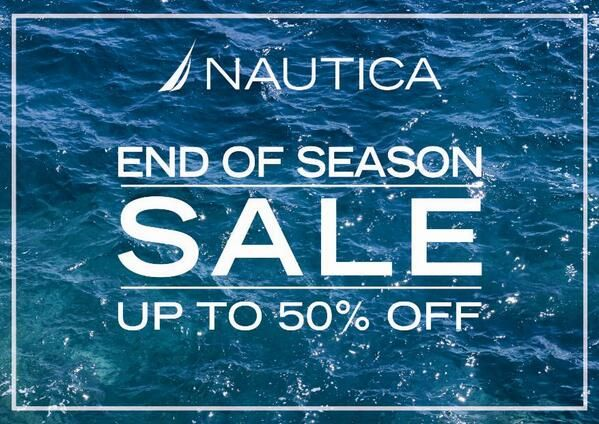 Nautica: End Of Season Sale up to 50% Off