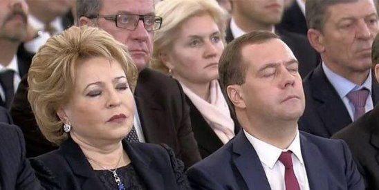 Я так и знал - Матвиенко спит с Медведевым!!!