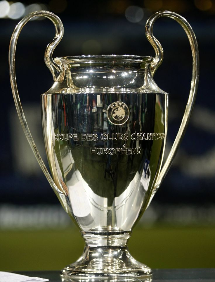 The European Cup (aka 'Big Ears'), great design and an inspiration to all those who aim to lift it in May *****