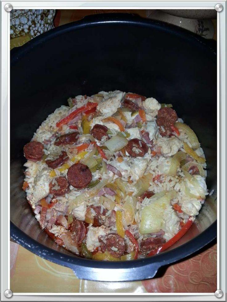 Marmite espagnole - chorizo + riz + poivron