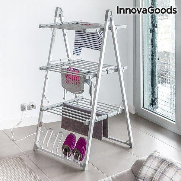El mejor precio en Hogar 2017 en tu tienda favorita https://www.compraencasa.eu/es/secadoras-planchas-tendederos/90443-tendedero-electrico-plegable-compak-innovagoods-300w-gris-30-barras.html