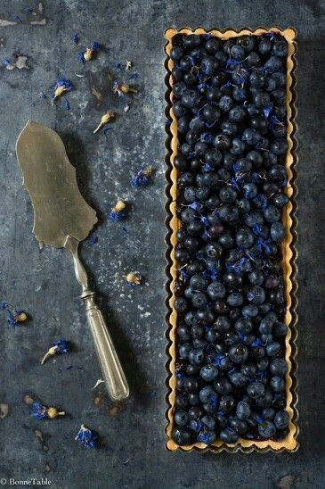 Fresh Blueberry Tart : Recipes : Cooking Channel
