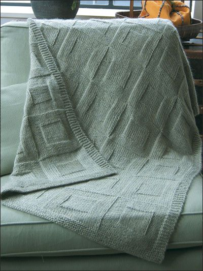Reversible Afghan to Knit pattern from AnniesCraftStore.com. Order here: https://www.anniescatalog.com/detail.html?prod_id=22761&cat_id=25