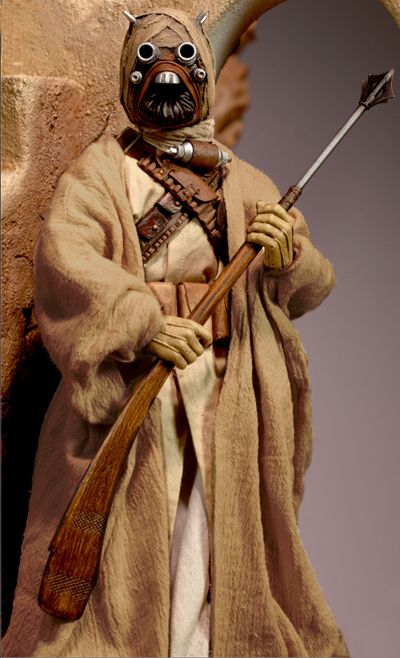 Star Wars -- Tusken Raider Cosplay Costume Version 01