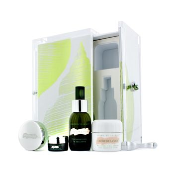 TThe Rescue Collection: Creme De La Mer 30ml + Concentrate 30ml +  Lip Balm 9g + Eye Concentrate 5ml + Box 4pcs+1box
