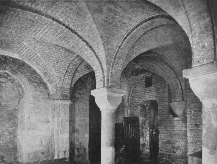 Plate 142: Cordwainer, Church of St. Mary Le Bow, The Crypt | British History Online