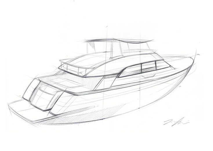 Art Line Yacht Design : Yacht sketch idea my work pinterest