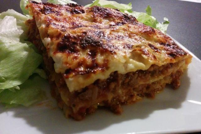 Lasagne à la bolognaise - Mes Recettes au Cooking Chef