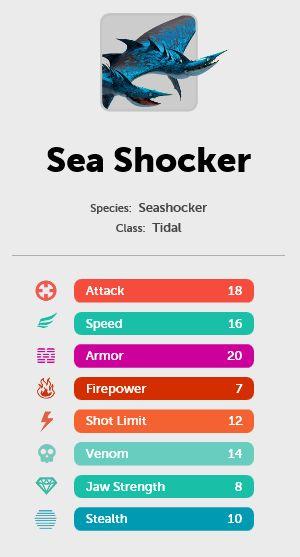 Seashocker stats
