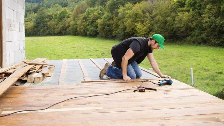 58 best Deck patio images on Pinterest Decks, Backyard patio and - construire sa terrasse en bois soimeme