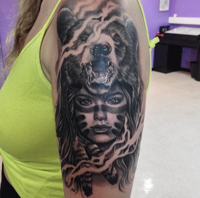 Pin by Andrew Info on Wolf Tattoos | Pinterest | Tattoo ...