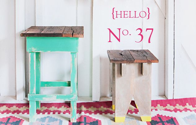 Im not sure which one I like more! - No. 37 {the stool with yellow feet} by 508
