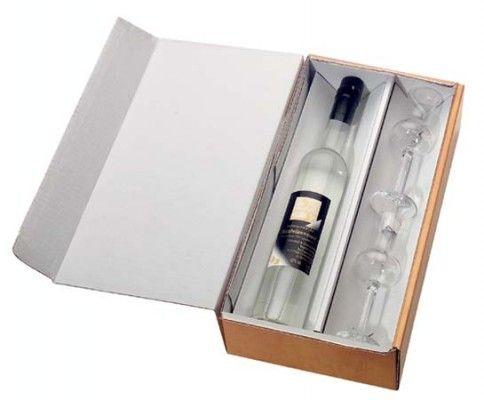 Versandkarton Flaschen