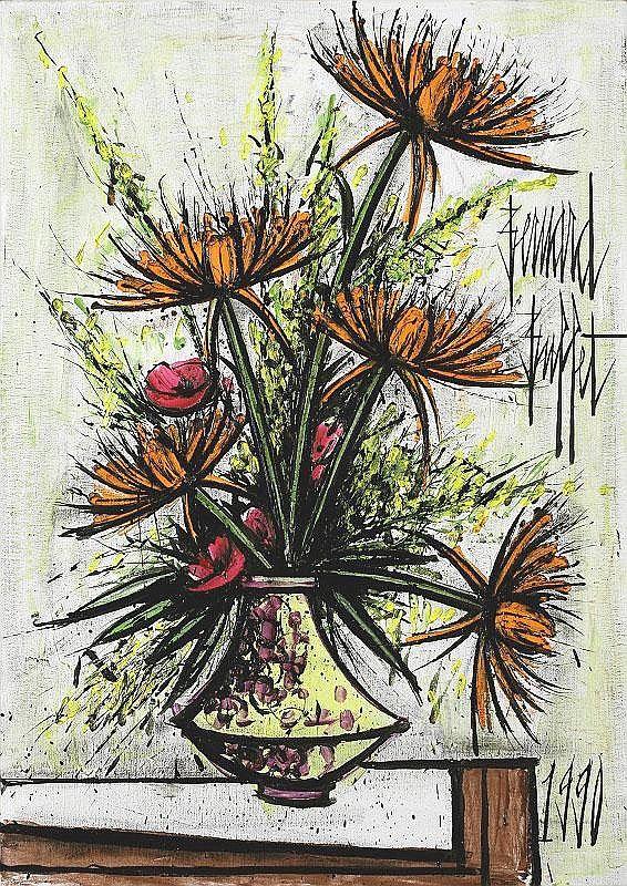 """""""Chrysanthemes"""" by Bernard Buffet"""