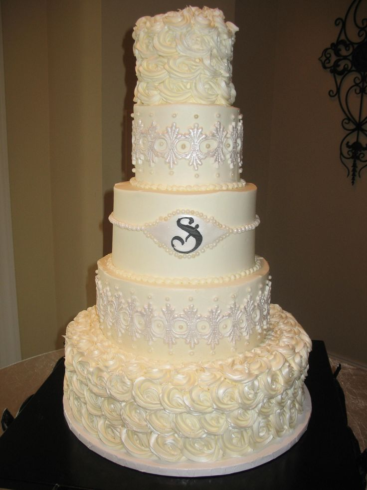 wedding cakes los angeles prices%0A roses and lace wedding cake www cheesecakeetc biz wedding cakes Charlotte NC