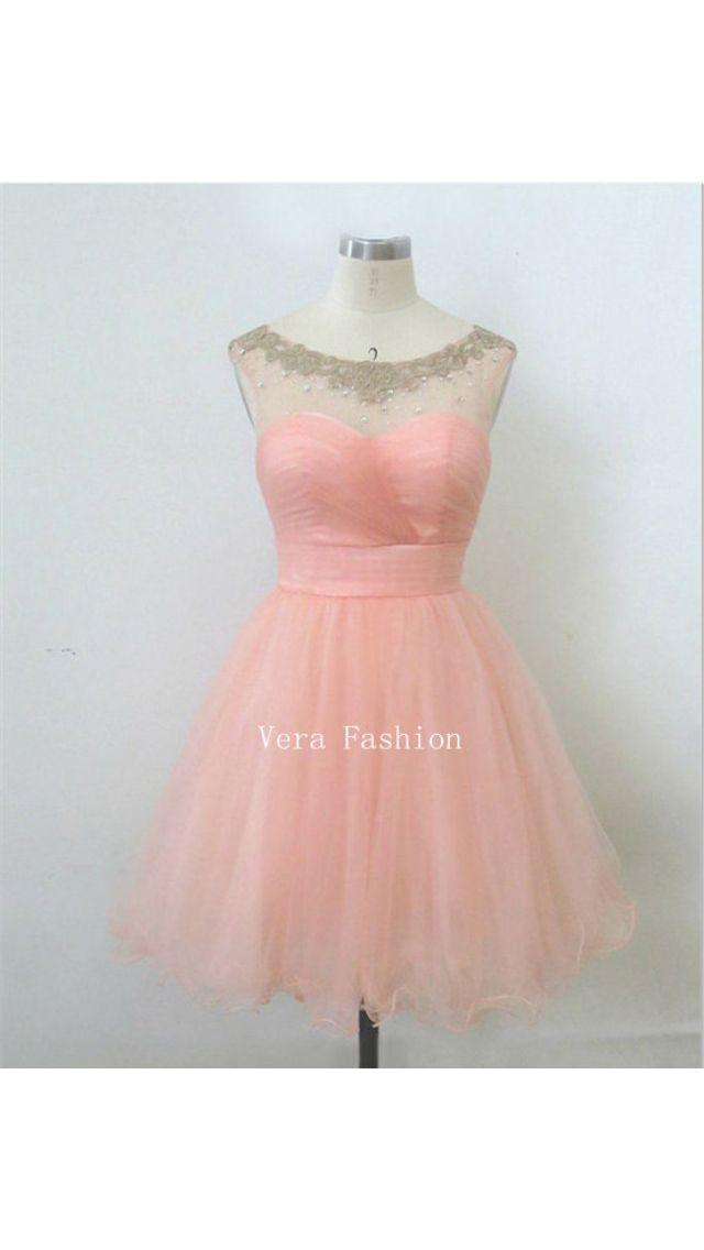 Beautiful short bridesmaid dress
