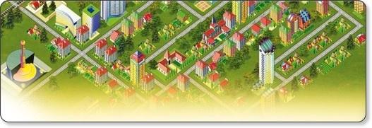 """Construire une ville en respectant l'environnement: Le jeu de simulation Ecoville est un """"serious game"""", produit par l'Agence de l'Environnement et de la Maîtrise de l'Energie (ADEME) . Ce jeu a pour objectif de faire progresser la population d'une ville tout en maîtrisant ses consommations d'énergie, ses émissions de gaz à effet de serre et sa production de déchets."""