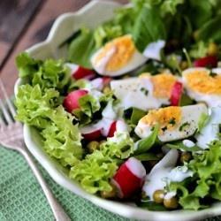Spring Green Salad