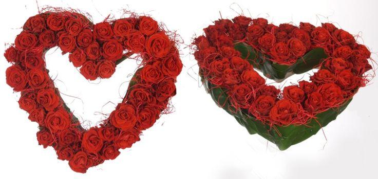 Kwiaty na Walentynki - Serce z roz :) #walentynki2015 #valentine #flowers #sanvalentino www.kaja.lebork.pl