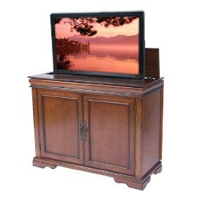 tremont tv lift cabinet by touchstone home products cabinet includes mounts and features a motorized lift for flat screen tvu0027s remote control activated to