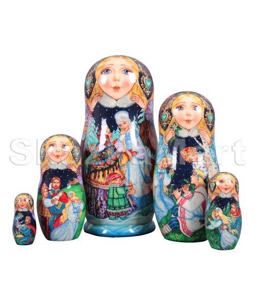 The Snow Maiden Tale. Snegurochka