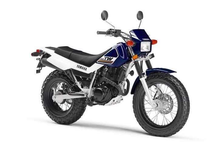 2017 Yamaha TW200 Adventure Touring/Dual Sport Motorcycle