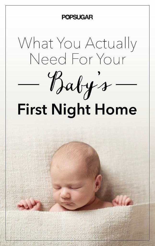 Find useful tips you'll need to know for baby's first night home.