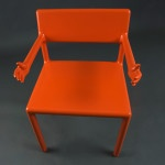 Arm Chair Design for Contemporary Living Room